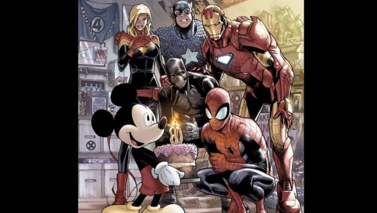 Marvel Comics #1000 Gets D23 Exclusive Variant to Celebrate 80th Birthday