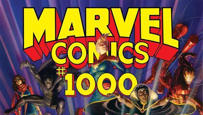 Marvel Comics #1000 Review Cover