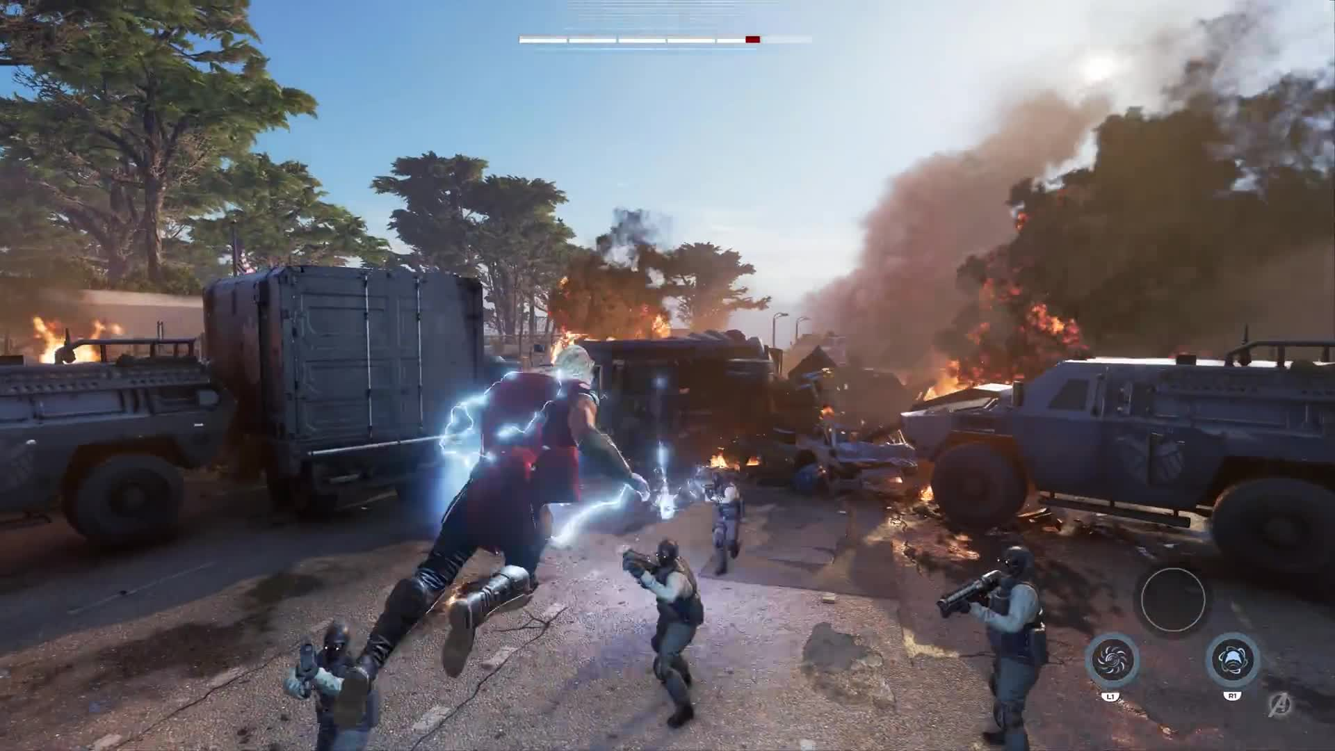 Marvel's Avengers: A-Day Prologue Gameplay Footage [HD] screen capture