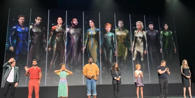 Marvel's Eternals Costumes Concept Art