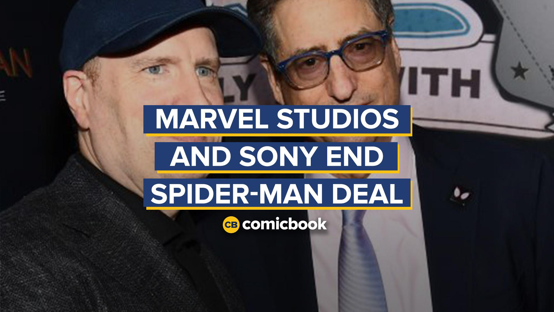 Marvel Studios and Sony End Spider-Man Deal screen capture
