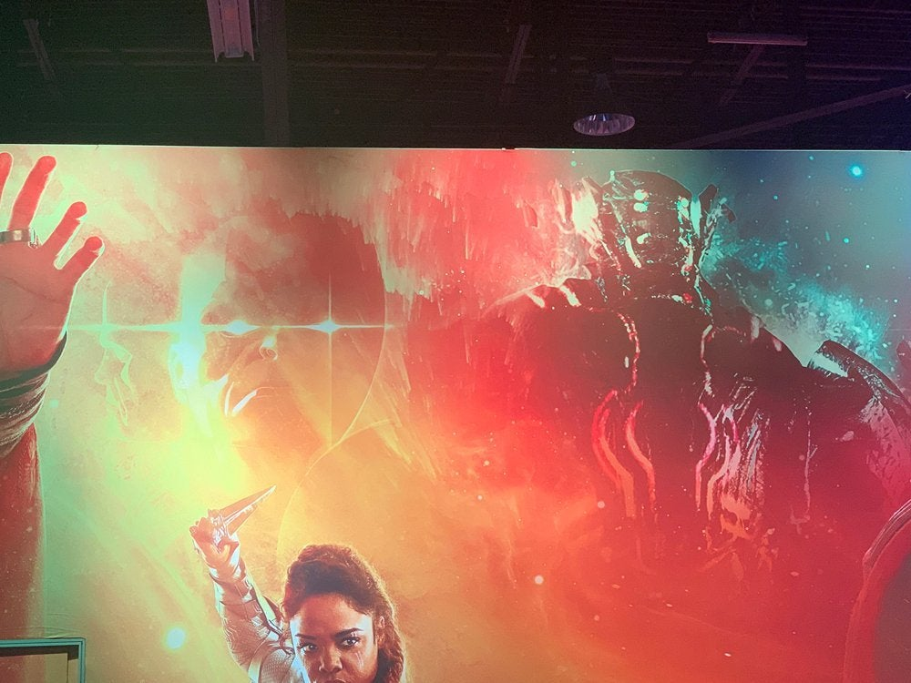 marvel studios booth d23 expo celestial watcher 2