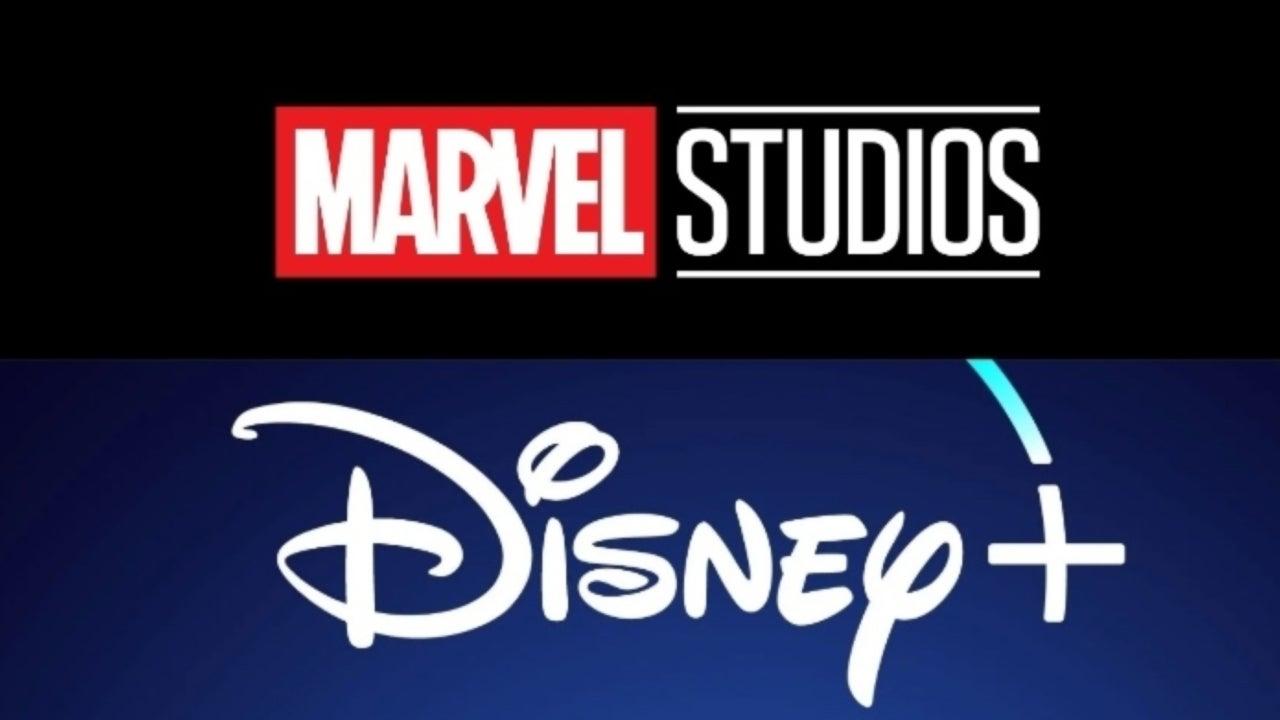 Marvel studios and Disney+ Logo