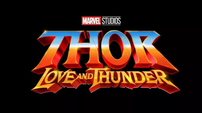 Marvel Studios Thor Love and Thunder logo
