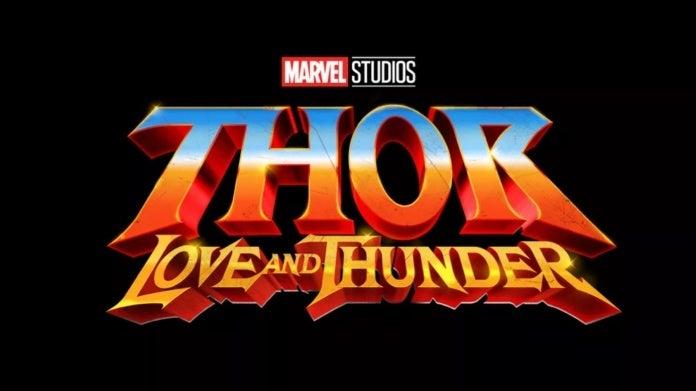 Marvel Studios Thor Love and Thunder logo