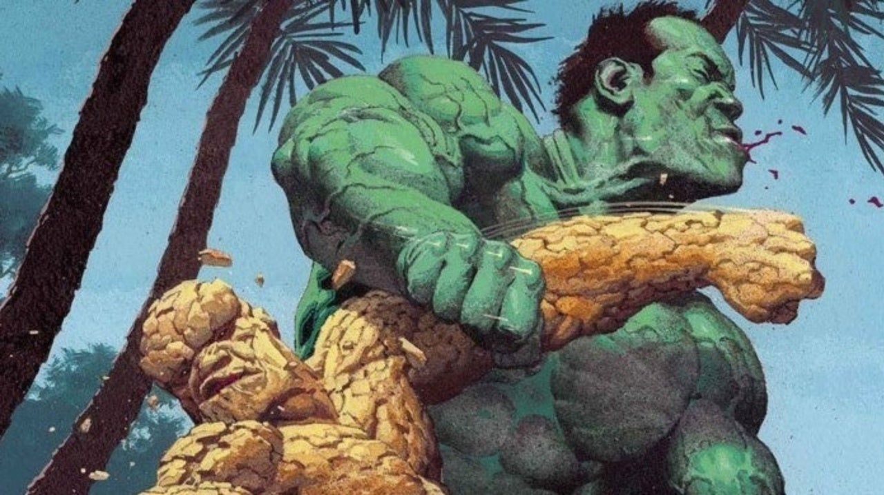 Marvel Finally Crowns a Victor In The Thing vs Incredible Hulk