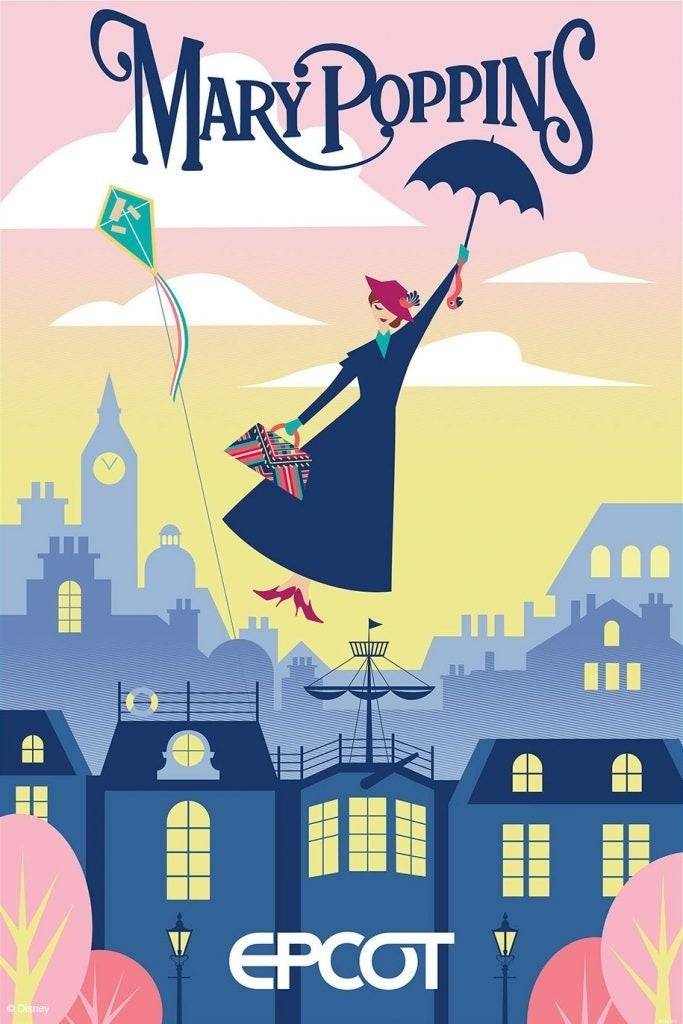 Mary Poppins Epcot