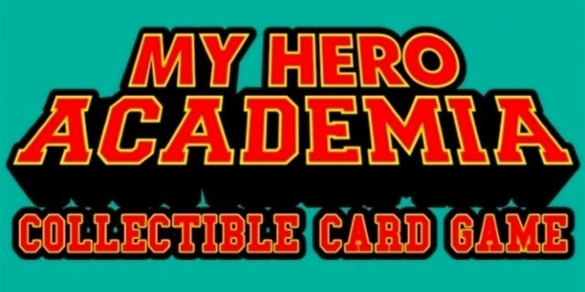 My Hero Academia Collectible Card Game Announced