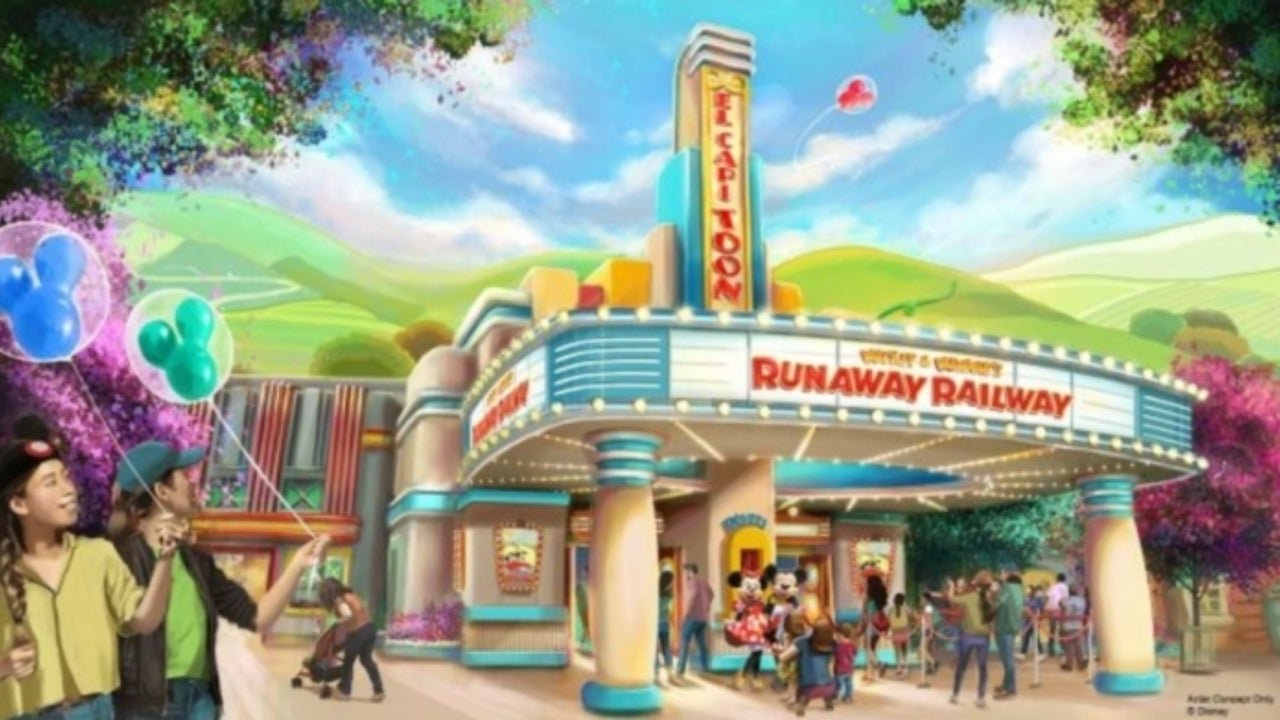 New Look at Mickey and Minnie Mouse Ride Coming to Disneyland and Walt Disney World