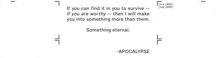 Moira X - Apocalypse