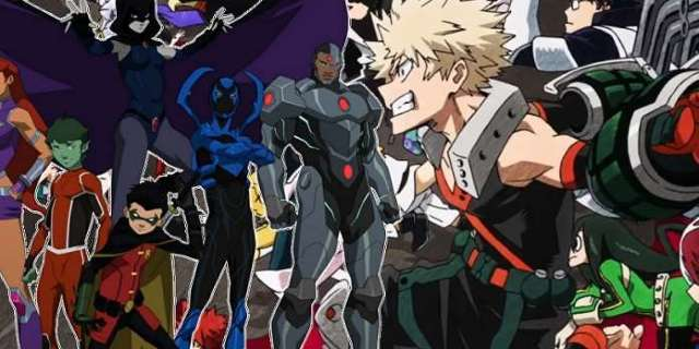 My Hero Academia Meets Teen Titans In Gorgeous Crossover