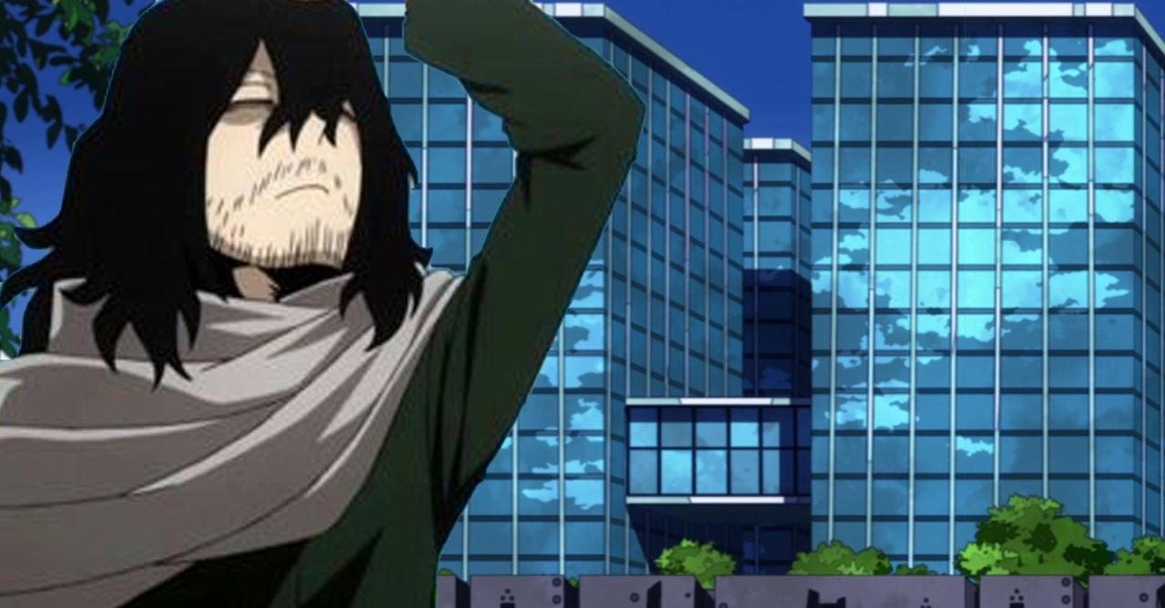 my hero academia aizawa