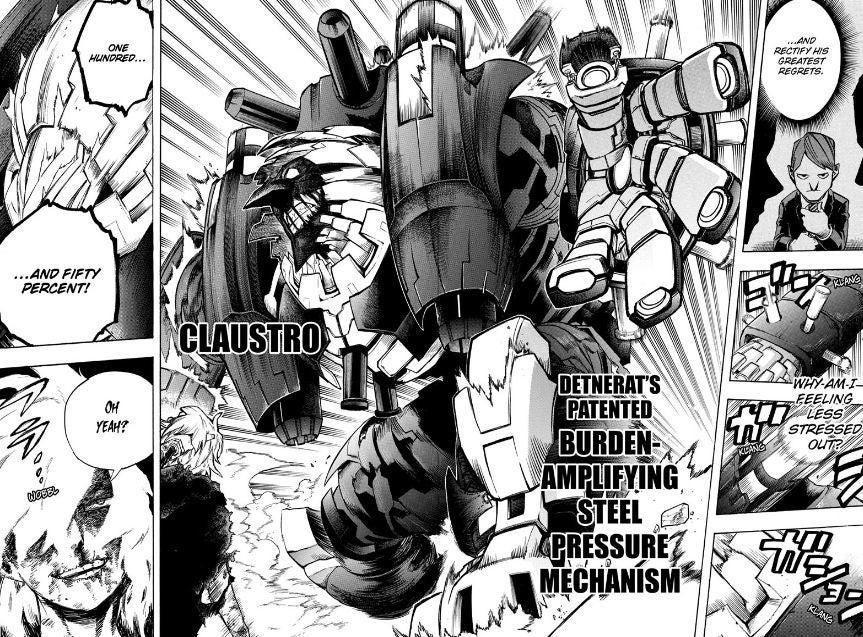 My Hero Academia Reveals Re-Destro's Mecha Power Boost