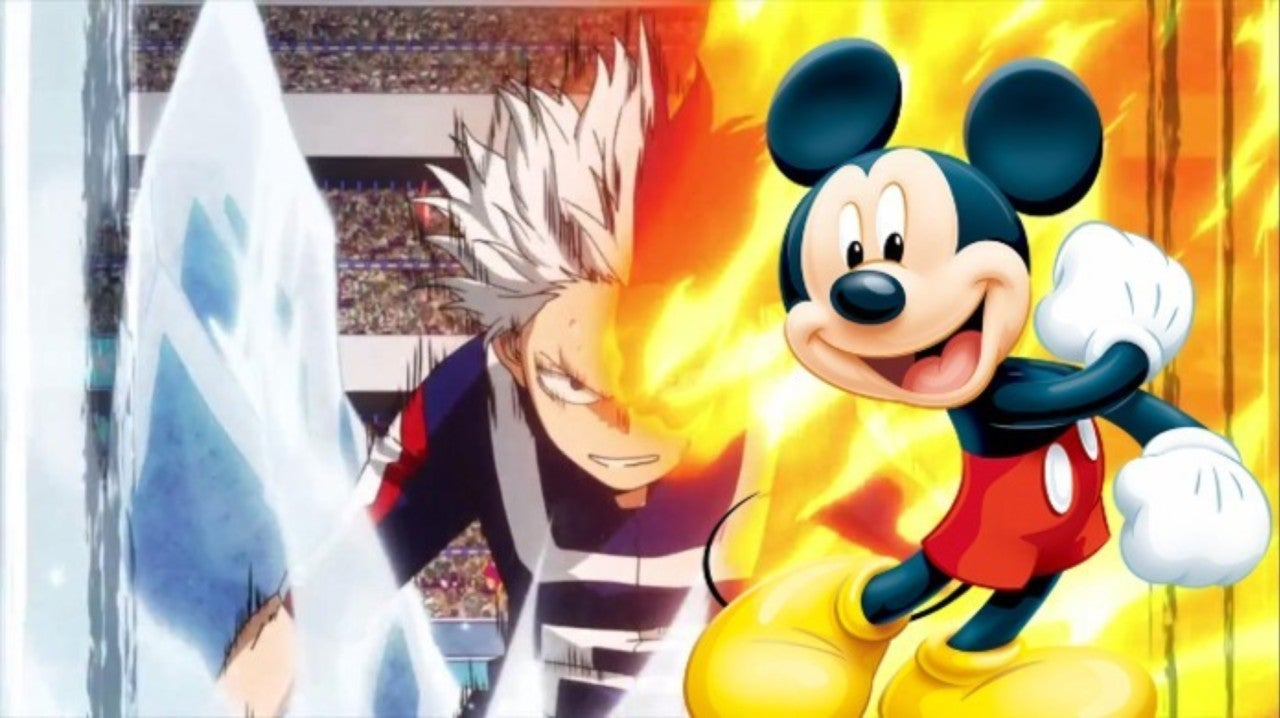 My Hero Academia's Greatest Todoroki Moment Gets a Disney Makeover