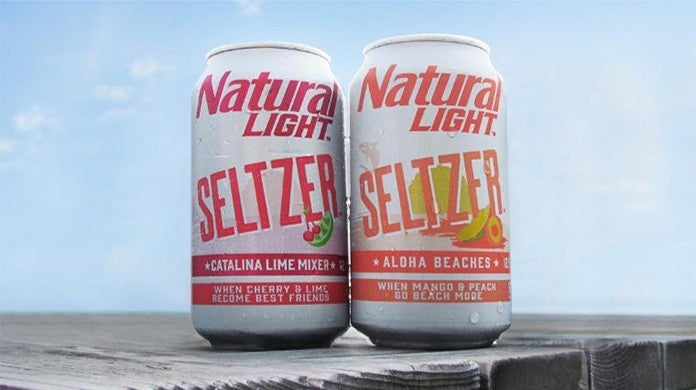 Natural Light Gets In On The Hard Seltzer Game With Two New Beverage