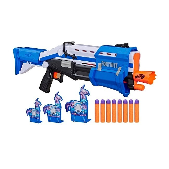 NERF FORTNITE TS-R BLASTER AND LLAMA TARGETS - in pck