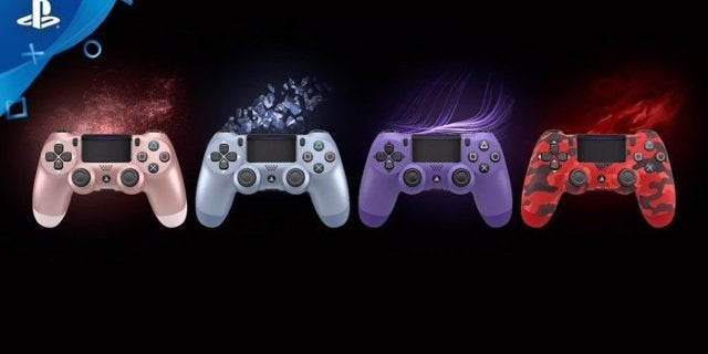 All Four New PlayStation 4 Controller Colors Are Available Now