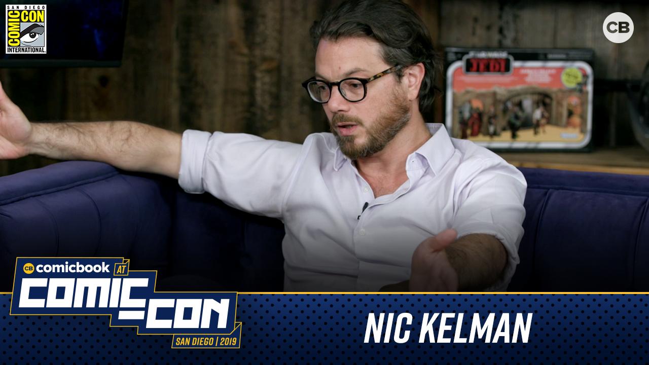 Nic Kelman talks Magic The Gathering - San Diego Comic-Con 2019 Interview screen capture