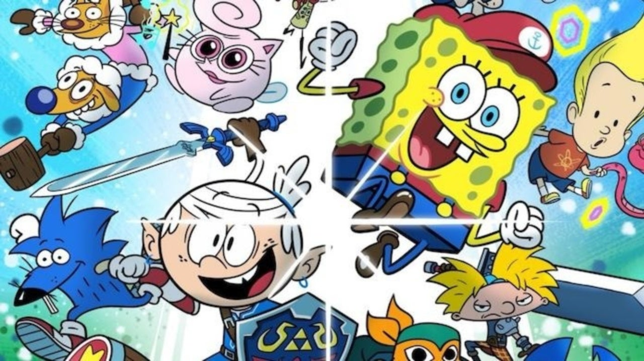 Super Smash Bros. Ultimate Meets Nickelodeon Characters in the Best Crossover Ever