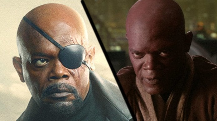 Nick Fury Mace Windu