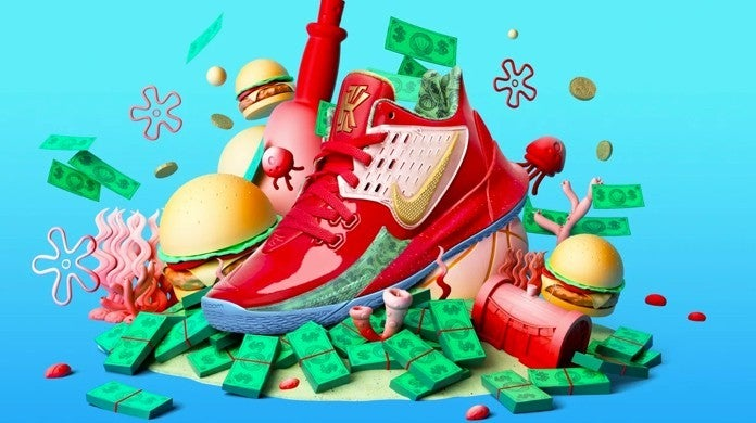 Here's Where to Get the SpongeBob SquarePants Nike Kyrie Collection