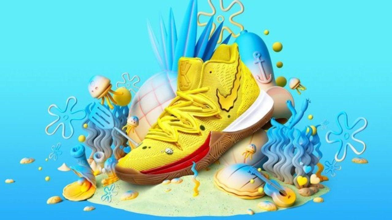 Here's Where to Get the SpongeBob SquarePants Nike Kyrie ...