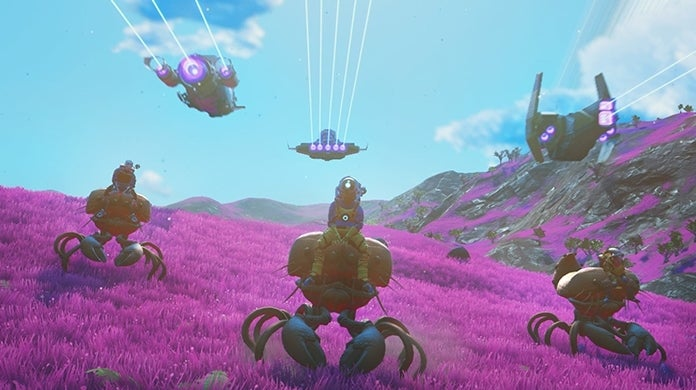 No Man's Sky Beyond PS4 Physical Release