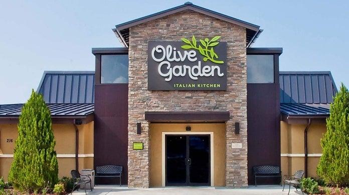 olive garden first date