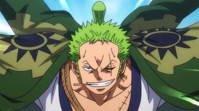 One Piece Zoro Wano
