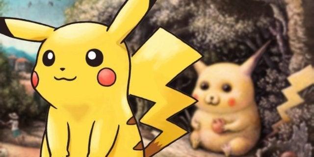 Viral Pikachu Painting Rallies to Become Official Pokemon TCG Artwork