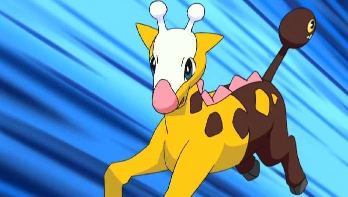 Pokemon Girafarig