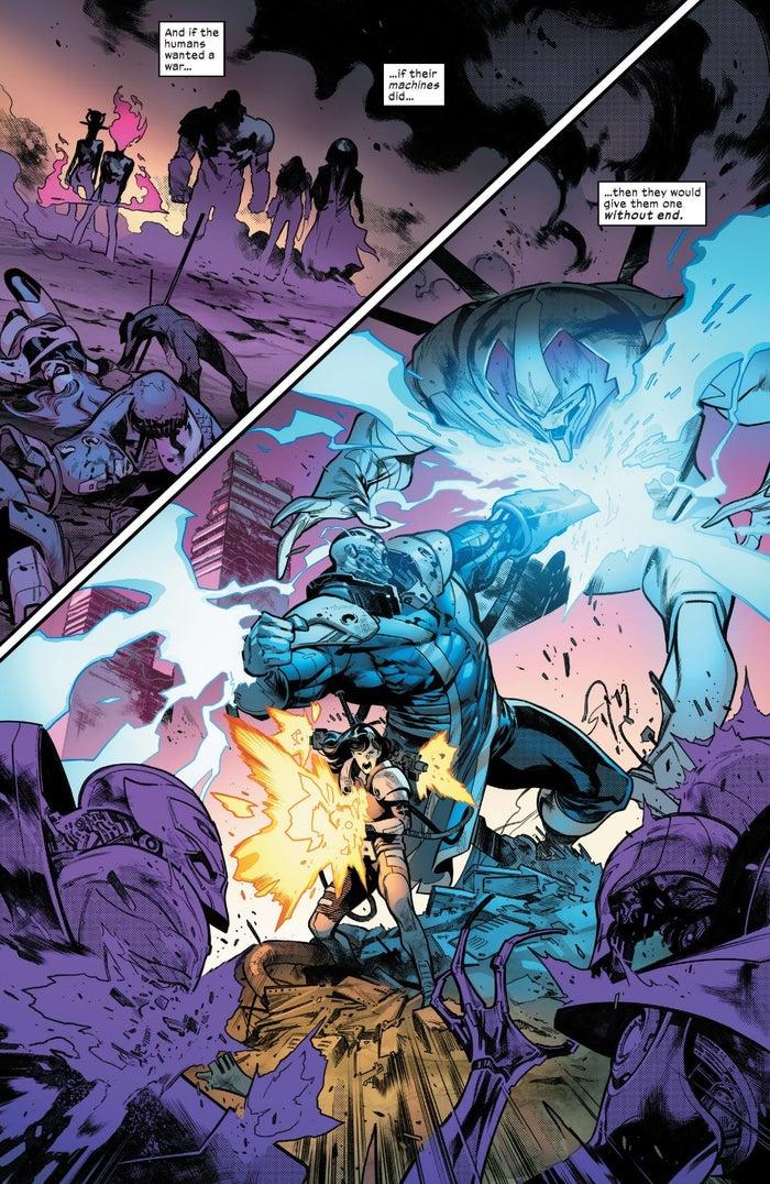 Powers of X - Apocalypse War Future
