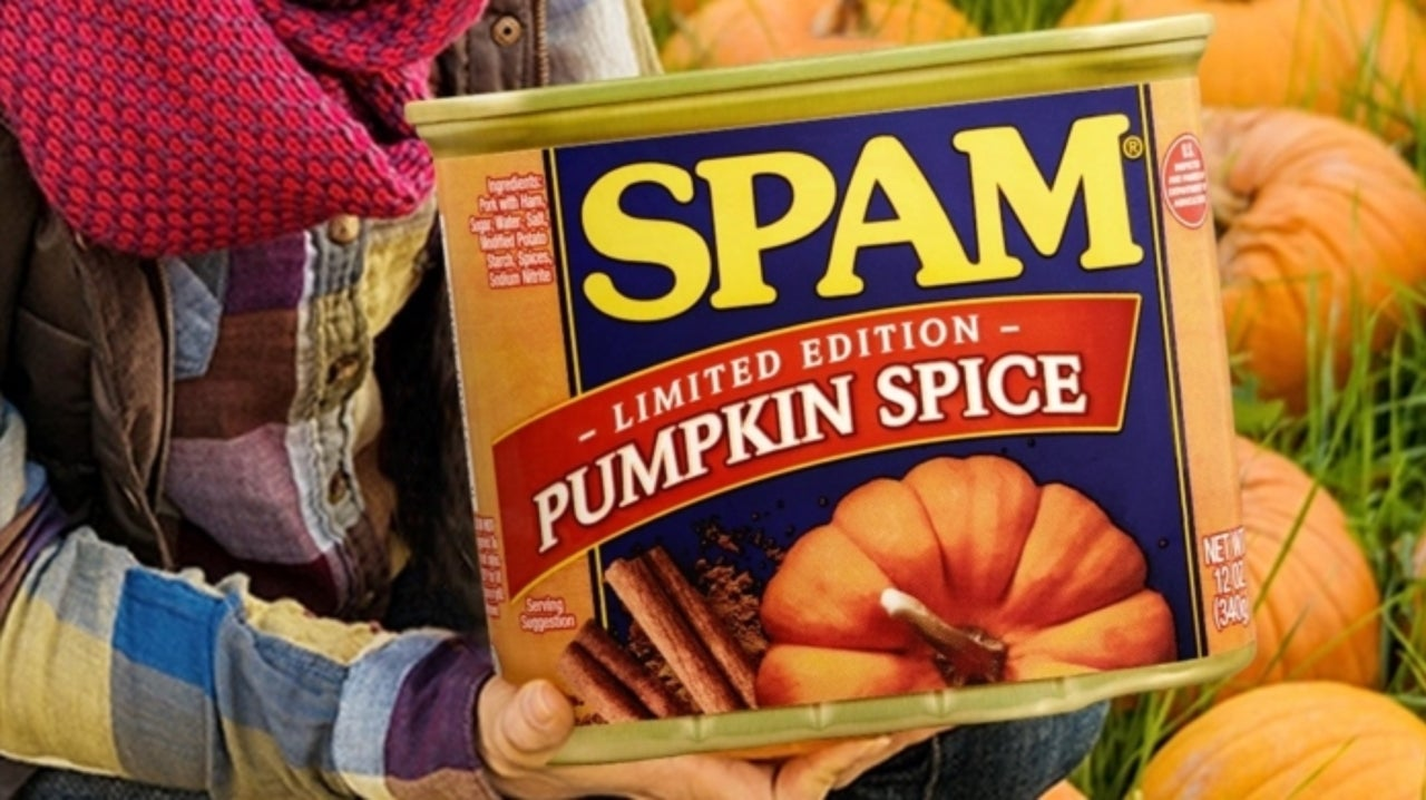 Pumpkin Spice Spam Is Something That's Actually Coming Out