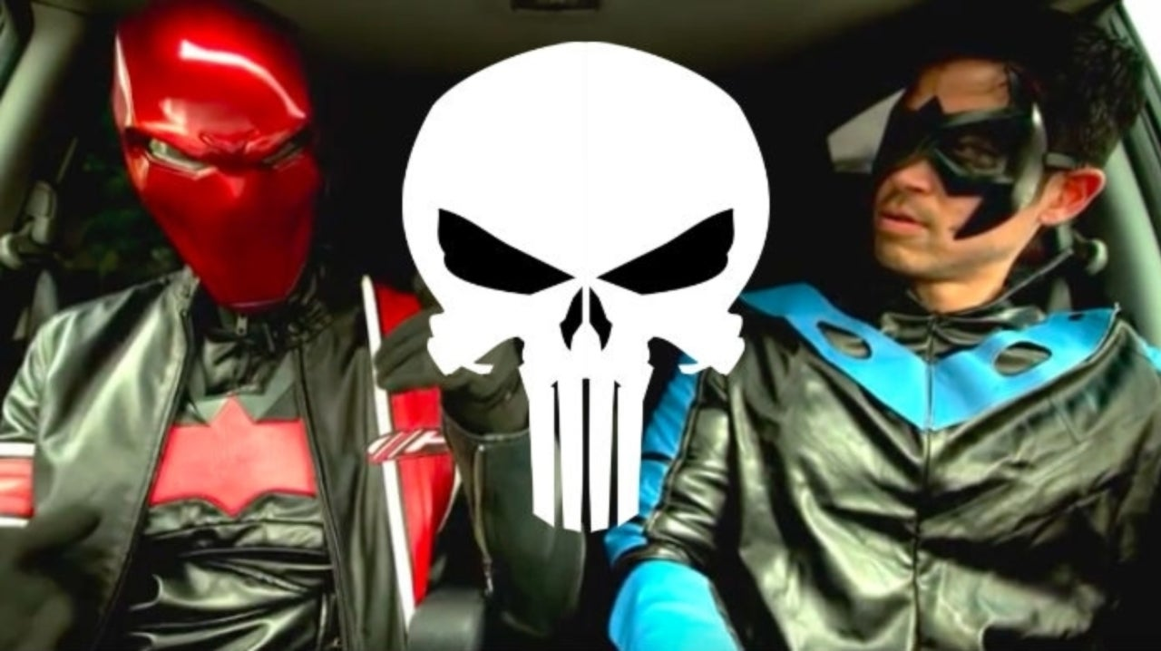Red Hood and Nightwing Argue About The Punisher in New GEGGHEAD Sketch