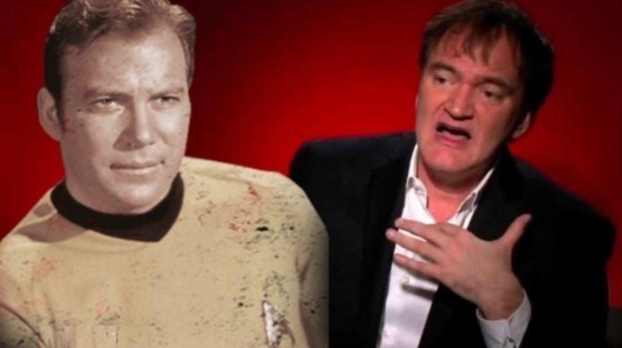 William Shatner Envisions Captain Kirk Running Wild in Quentin Tarantino's Star Trek