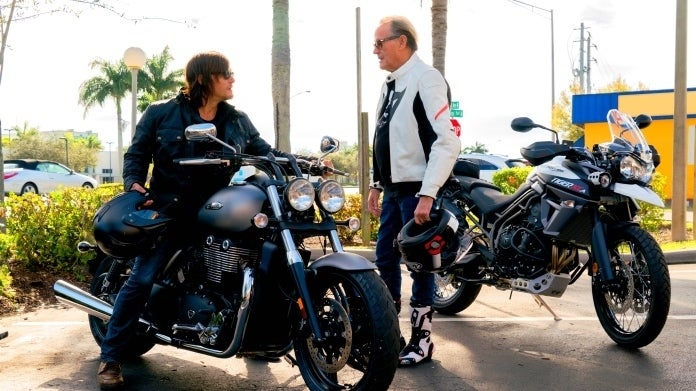 Ride With Norman Reedus Peter Fonda