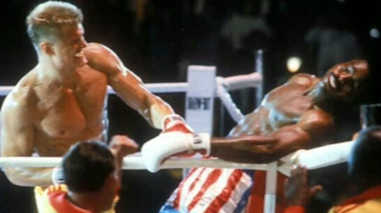 Rocky IV Stars Dolph Lundgren and Carl Weathers Reunite