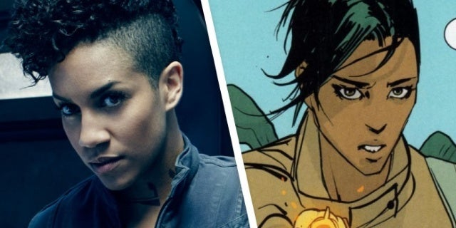 The Expanse Star Dominique Tipper Wants to Play Saga's Alana