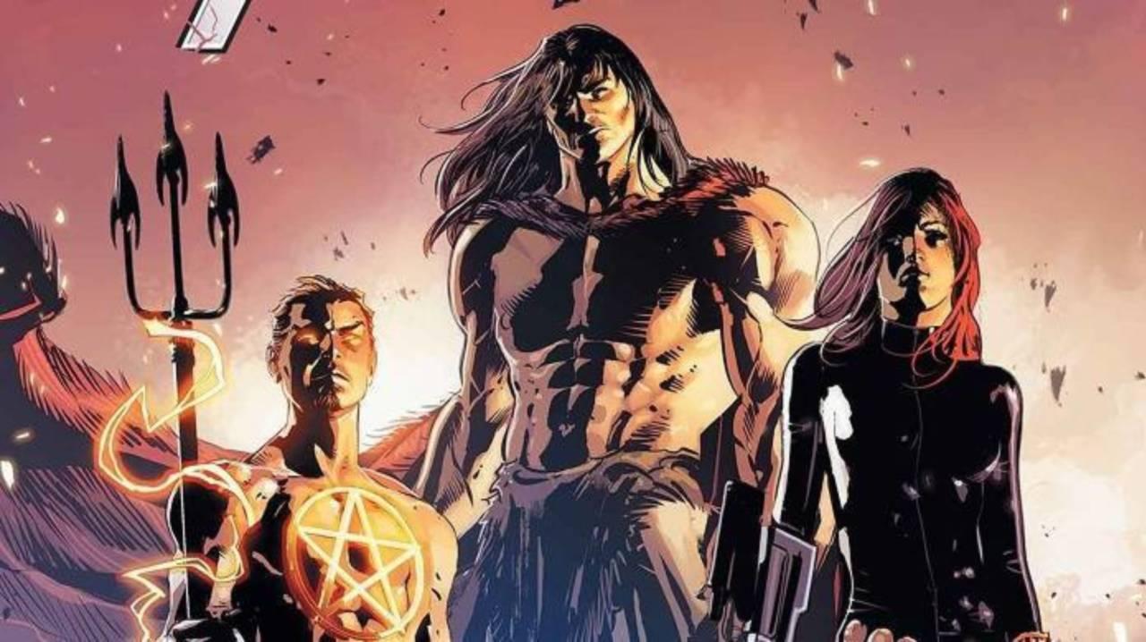 Black Widow Joins Conan The Barbarian S Avengers Team
