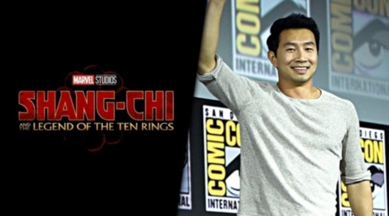 Shang-Chi Star Simu Liu Pays a Visit to Star Wars: Galaxy's Edge