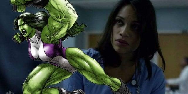 Rosario Dawson Comments on She-Hulk Fancasting