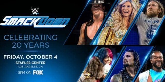WWE Announces SmackDown 20th Anniversary Special for Fox Premiere Episode, Featuring Returning Legends