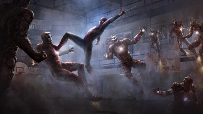 Spider-Man Far From Home Iron Man zombies