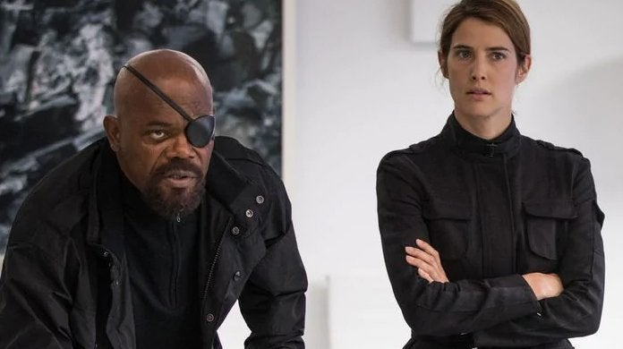 spider-man far from home nick fury maria hill cobie smulders