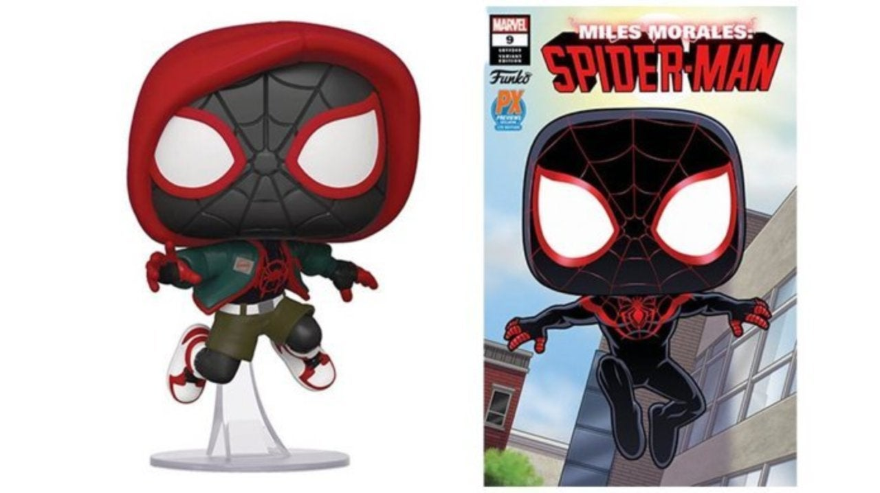 Miles Morales Spider-Man #1 Funko Pop PX Previews Variant 2019 NM Marvel