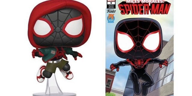 Funko's Spider-Man: Into the Spider-Verse Casual Miles Morales Exclusive Pop Figure is Live