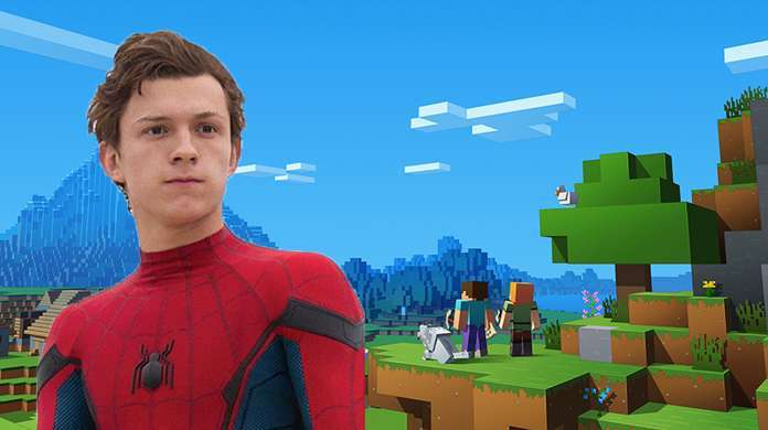 Spider-Man-Tom Holland-Face-Minecraft