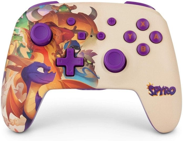 This Spyro Nintendo Switch Controller is Surprisingly Beautiful