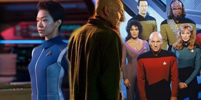 """Star Trek: Picard Is a """"Hybrid"""" Of Discovery and Next Generation, Says CBS Exec"""