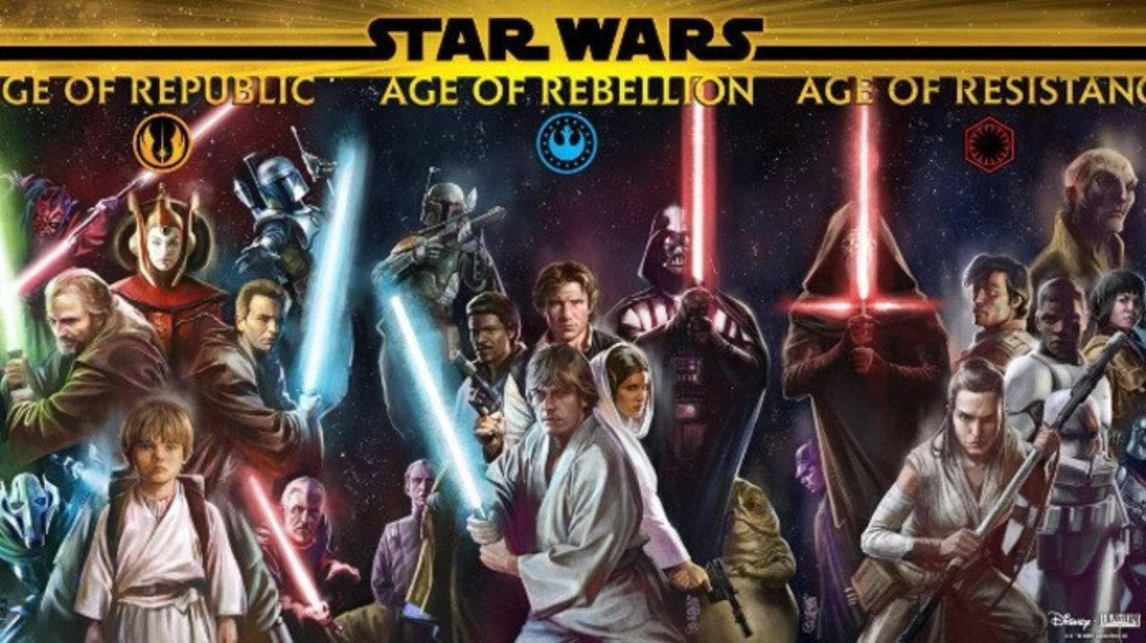 Lucasfilm Reveals Official Timeline of the Star Wars Saga